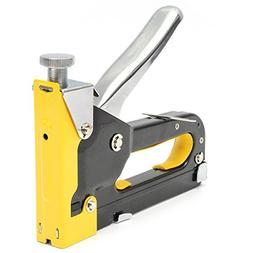 Multipurpose Three-way Shooting Staple Gun Yellow Stapler St