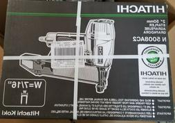 "Hitachi N5008AC2 7/16"" Crown Standard Construction Stapler N"