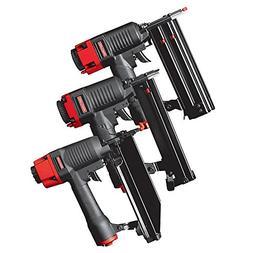 Craftsman 3 pc Nail Gun Kit 951109 Crown Stapler, Brad Naile