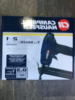 "CAMPBELL HAUSFELD 1 1/4"" NAILER/STAPLER in CASE w/ NPT IND P"