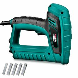 NEU MASTER Staple Gun N6033, Electric Brad Nailer with Conta