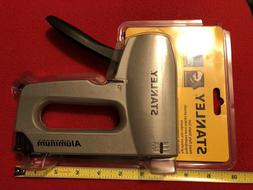 New Stanley heavy Duty Staple Gun Aircraft Aluminum