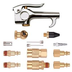 """WYNNsky 1/4"""" NPT Air Blow Gun and Brass Air Accessory Kit, A"""
