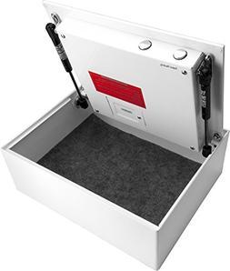 BARSKA Top Opening Steel Drawer Biometric Fingerprint Scan S