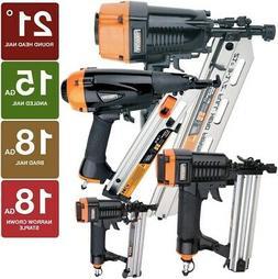 pneumatic framing / finishing nailers and stapler combo kit