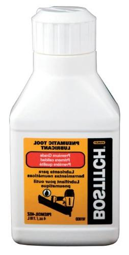 BOSTITCH PREMOIL-4OZ Premium Pneumatic Tool Oil
