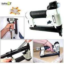 Professional Pneumatic Stapler Staple Gun Tool Home Repair W