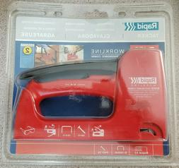 Rapid R453 Staple Gun for Upholstery Work, Plastic Body