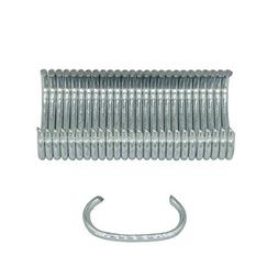 China-top Silver SC7 15 Gauge 3/4'' Crown C Ring Staples C-R