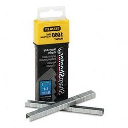 Sharpshooter 1/4 Inch Leg Length Staples, 1,000/Box