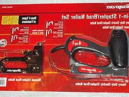 Snap-On Electric Stapler & Nailer Set 4-in-1