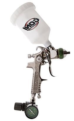 SPRAYIT SP-324 HVLP Gravity Feed Spray Gun with Air Regulato