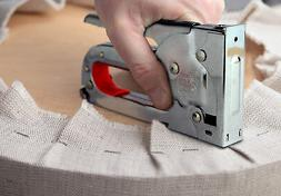Staple Gun Fabric Upholstery DIY Powerful Staple Gun Tacker