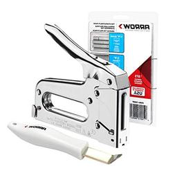 ARROW Staple Gun T50 Heavy Duty Kit with 1875 Staples and Re