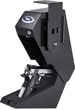 BARSKA Steel Handgun Safe Pistol Desk Drawer Security Box Qu