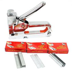 three way tacker staple gun kit