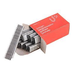 Baynne 1000Pcs U-Shaped Staples 1.2MM Thick Rustproof Nails
