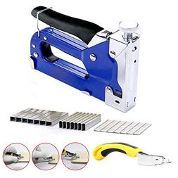 Upholstery Staple Gun 3 in 1 Heavy Duty with Remover tool,90