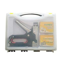 Upholstery Staple Gun, Nail Gun,3 in 1 Heavy Duty Staple/Bra